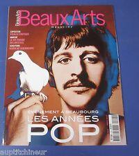 Beaux arts magazine 2001 202 Les années pop à Beaubourg
