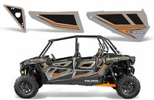 Pro Armor Door Graphics Kit Titanium Orange Polaris RZR XP4 XP 4 1000 / Turbo