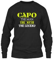 Capo The Man Gildan Long Sleeve Tee T-Shirt