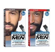 Just for men bigote & Barba Color Completo Gris Aplicación Easy 5 MINUTES