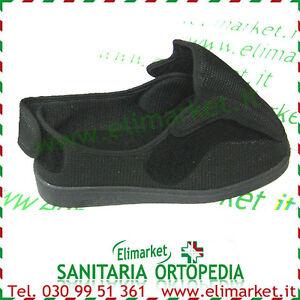 Scarpe pantofole morbide regolabili piedi gonfi diabetici per anziani carrozzina