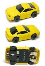 1993 ARTIN USA 1/64th Elect. HO Slot Car Yel. Ford Mustang 5.0 RarelySeenUnused!