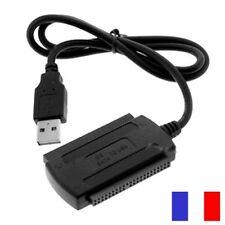 Câble Adaptateur IDE SATA 3.5 2.5 USB 2.0 1.1 PC DISQUE DUR HDD GRAVEUR
