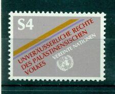 """Nations Unies Vienne 1981 - Michel n. 16 -  """"Les Droits inaliénables du Peuple P"""