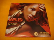 Cardsleeve Single cd KELIS FT NAS In Public 2TR 2005 r & b swing hip hop