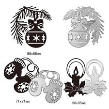 Christmas Cutting Dies Stencils for DIY Scrapbooking Album Xmas Paper Card Decor