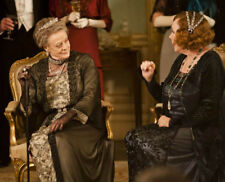 Downton Abbey UNSIGNED photograph - L6669 - Shirley MacLaine and Maggie Smith