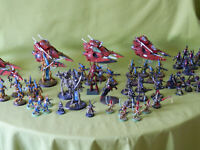 WARHAMMER 40K ELDAR ARMY PAINTED / UNPAINTED MODELS - MANY UNITS TO CHOOSE FROM