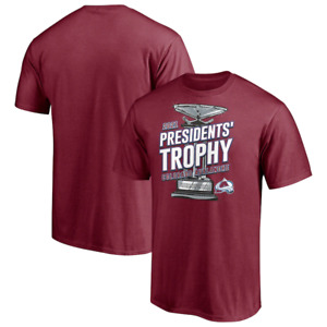 Colorado Avalanche 2021 Presidents' Trophy T-Shirt