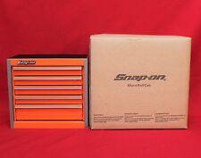 Snap On  Electric Orange   Mini Bottom Roll Cab Tool Box - Brand New