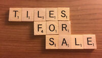 Individual Scrabble Tiles! Great For Crafts Game Pieces Fast Free Shipping
