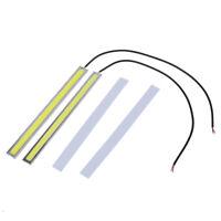 5X(2X Super Thin White COB 84LED DRL Day Driving lamp Daytime Running Fog L E6I0