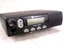 Motorola CM300 UHF 32ch 40w Mobile Radio w/New Accessories