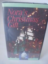 Nora's Christmas Gift VHS LDS tape Latter-Day Saints NEW, tear on seal
