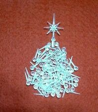 50 Clear Small Pins Globes & Star Ceramic Christmas Tree Lights Pegs Bulbs