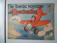 LE BEAU VOYAGE DE ROUDOUDOU NUM 41 / IMAGES A COLORIER  / VAILLANT 1963