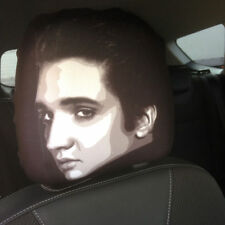 Elvis Presley Face Car Seat Head Rest Covers Pack Of Two Car Accessory Gift
