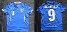 Mario Balotelli Italia Italien Home Shirt Jersey Puma Azzurri BOY S/128 cm/8 Jahre