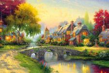1000 piece Summer Bridge River Home Jigsaw Puzzle Intelligence Educational Gift