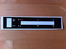 Ford Escort MK2 RS2000/Mexique Heater Control decal