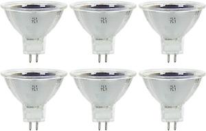 Sunlite 20MR16/NSP/12V/6PK Halogen 20W 12V MR16 Narrow Spot Light Bulbs 6 Pack