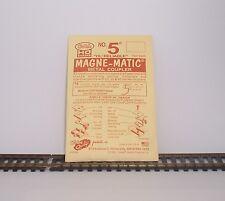 HO KADEE NO. 5 MAGNE-MATIC METAL COUPLER 2 PAIR