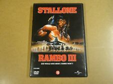DVD / RAMBO III ( SYLVESTER STALLONE )