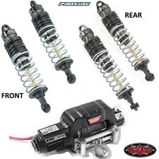 Pro-Line PowerStroke Front / Rear Shocks w/ RC4WD S1079 1/10 Warn 9.5cti Winch