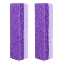 2x Pumice Sponge Stone Exfoliate Foot Hard Dead Skin Pedicure Remover Scrubber