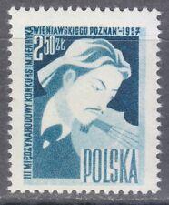 Poland 1957 MNH Mi 1034 Sc 795 Henri Wieniawski ,Polish virtuoso violinist **