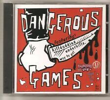 Dangerous Games Split CD Killdaddies Underhills Way to go! Fun Punk Skatepunk