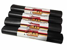 "Raptor Grab TOOL BOX Drawer LINERS BLACK Non-Slip Liners BLACK 4 Rolls 17"" x 60"""