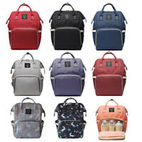 Baby Diaper Bag Unicorn Backpack Fashion Mummy Maternity Bag for Mother Brand