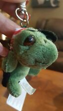 NWT Russ Berrie Shecky Peepers Pirate Turtle Plush Keychain HTF RARE!