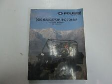 2009 polaris sportsman 850 efi hd eps atv workshop repair service manual