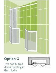 Impey Option G 750mm High Shower Screens