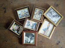 Set di cornici piccole con immagini vintage originali - Marilyn Monroe e altre