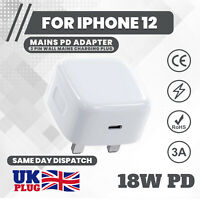 Wall Charger USB Plug Adapter UK Main Quick Charge 3.0 for IPHONE 12 PRO XR 11