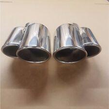 """Cromo De Escape De Acero Inoxidable Tubo de escape de entrada de 2.25"""" 57 mm puede caber Range Rover"""