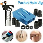 15Degree Tool Puncher Woodworking Positioner 15 Pieces DIY Durable Tool Blue US
