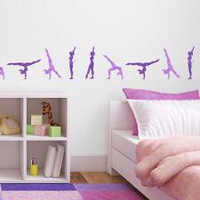 CraftStar Gymnastics Stencil - Walk Over Gymnast Reusable Stencil Set - Template