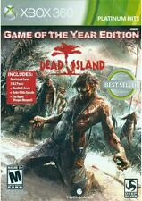 Dead Island XBOX 360! GOY! WALKING DEAD, ZOMBIES, BLOOD, GORE, SCARY, BATTLE