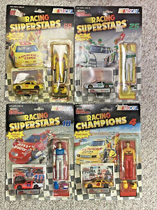 Winners Circle Racing Superstars Lot Of 4, Hamilton, Cope, Schrader & Irvan! NIP