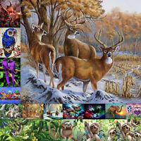Animal 5D DIY Full Drill Diamond Painting Cross Stitch Embroidery Kit Art Decor