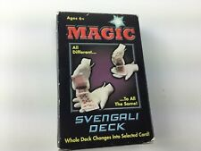 Vintage Magic Svengali Card Deck tricks