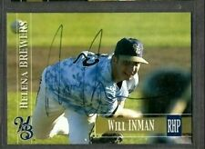 2005 Helena Brewers Team Set #92 Will Inman Signed Autograph Card