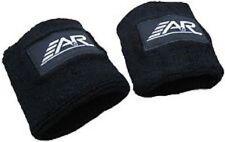 New A&R Hockey Football Lacrosse Padded Wrist Guard Molded Plastic OSFM Black