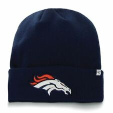 Denver Broncos 47 Brand Raised Cuff Knit Cap Hat Navy