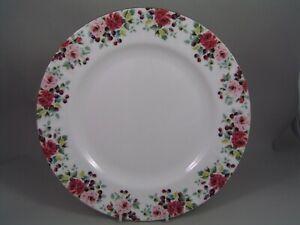 """ROYAL ALBERT ROSA 10 3/8"""" DINNER PLATE, NEW"""