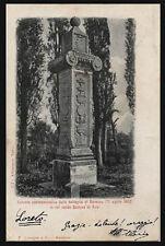 cartolina RAVENNA colonna commemor. della battaglia in cui cadde gastone di foix